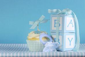 Бесплатные фото кекс,день рождения,праздник