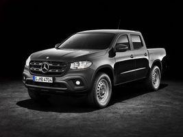 Фото бесплатно Mercedes-Benz X-Klasse, пикап, черный