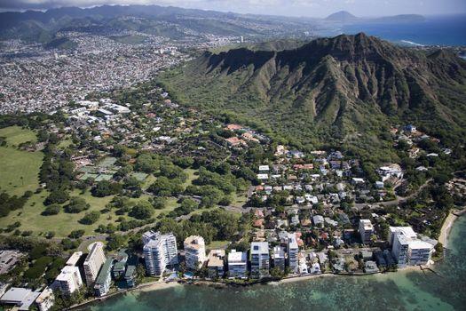 Photo free mountain range, Hawaii, USA