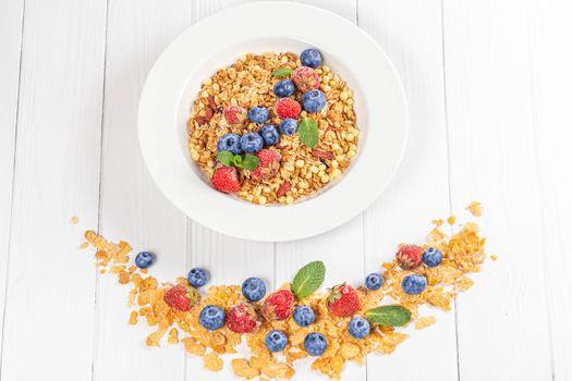 Photo free food, corn flakes, oatmeal