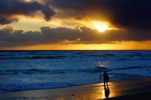 Фото бесплатно побережье, ветровая волна, пляж