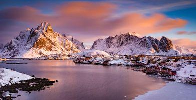 Заставки Лофотены, Норвегия, Лофотенские острова