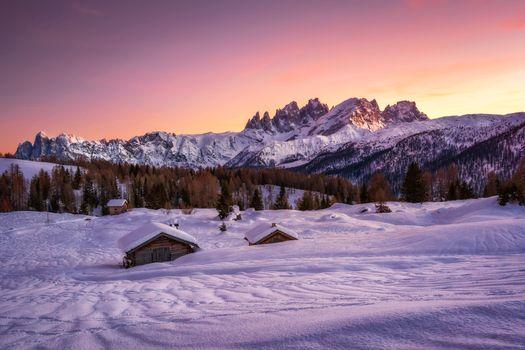 Фото бесплатно Italy, горы, домик