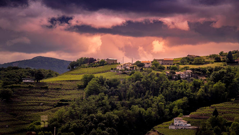 Фото бесплатно деревня, уютный, закат - на рабочий стол