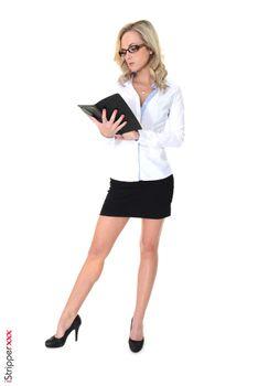 Фото бесплатно девушки, блондинка, секретари