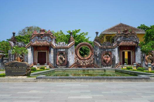Фото бесплатно храм, Вьетнам, пруд