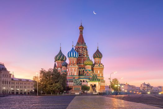 Заставки St Basils Cathedral, месяцRussia, Moscow