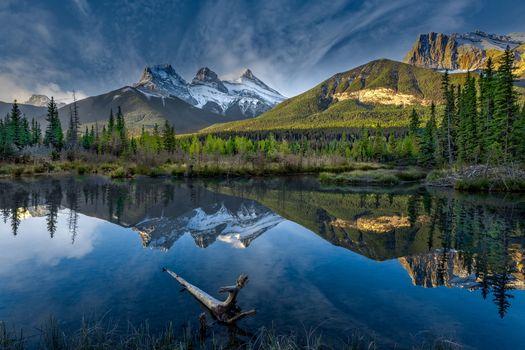 Фото бесплатно Canmore, Alberta, Canada
