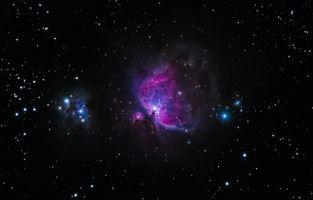Фото бесплатно галактика, звезды, блеск