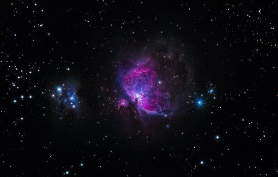 Фото бесплатно галактика, звезды, блеск, ночное небо, galaxy, stars, glitter, night sky