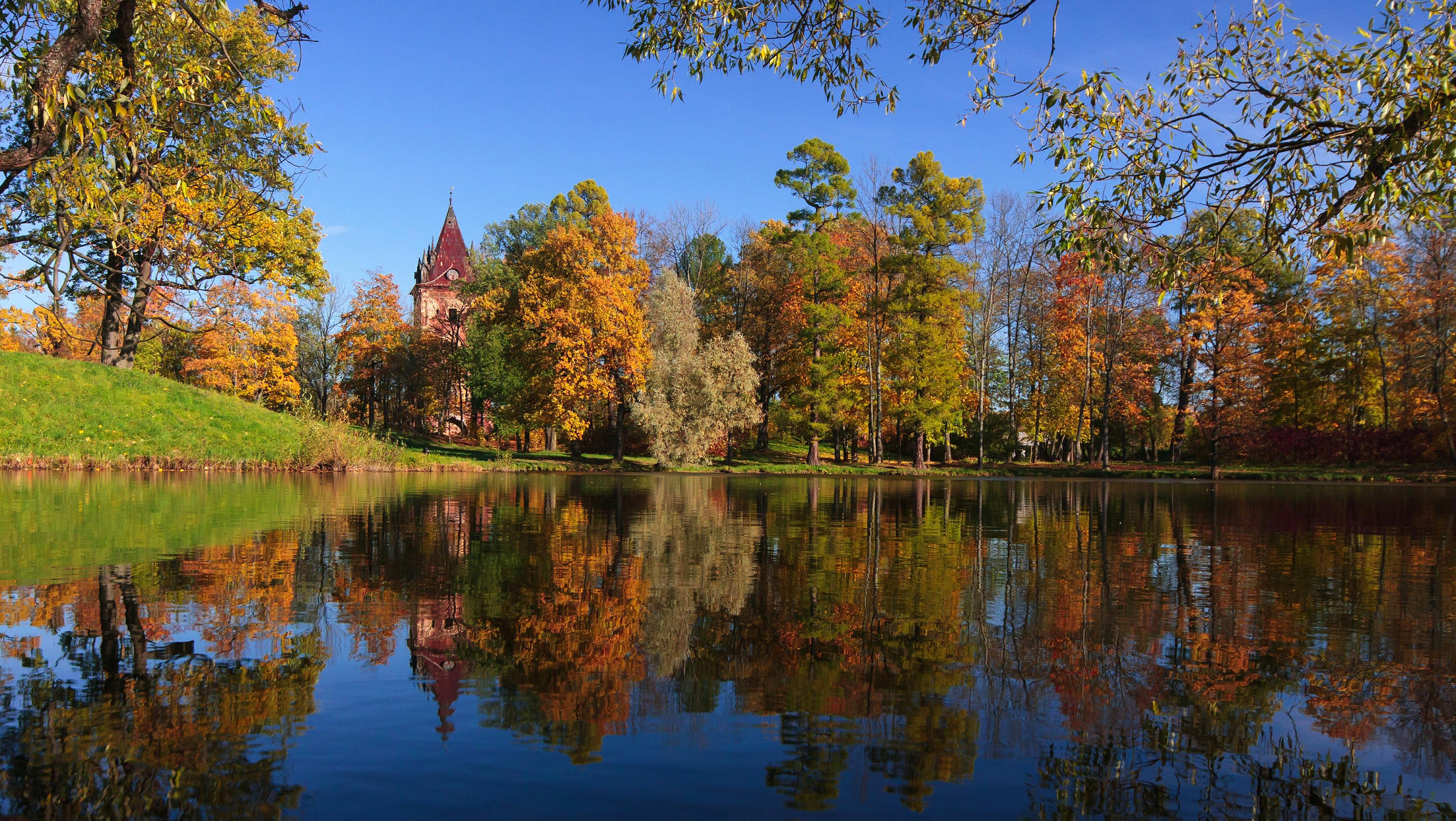 Россия, Пушкин, Осень