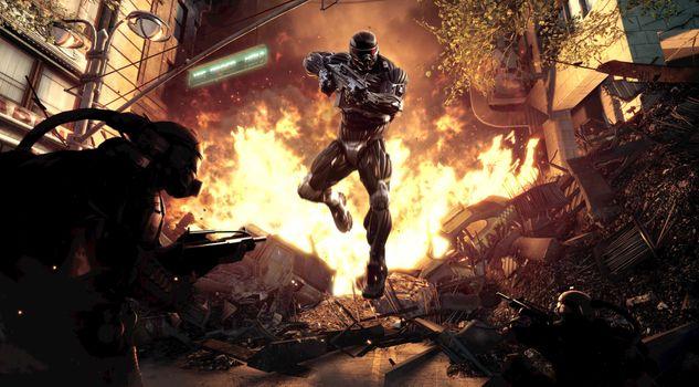 Фото бесплатно Crysis, игры, Pc Games