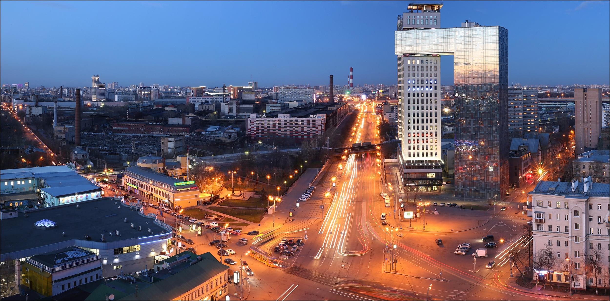Обои Москва, площадь Рогожская застава, Россия