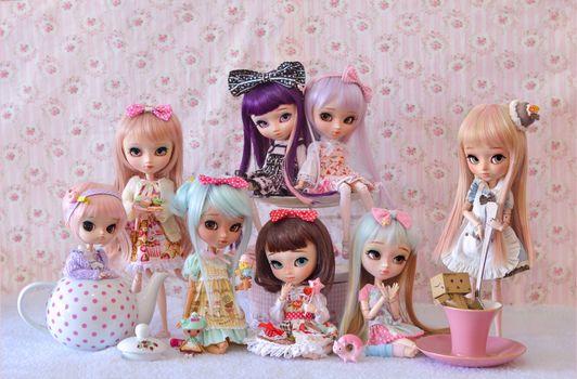 Хай куклы · бесплатное фото