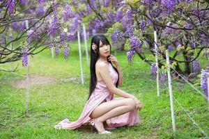 Фото бесплатно молодая женщина, брюнетка, азиатка