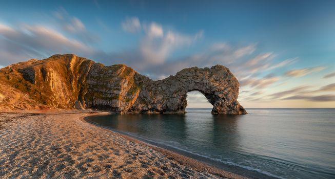 Фото бесплатно арка, скалистый берег, побережье англии