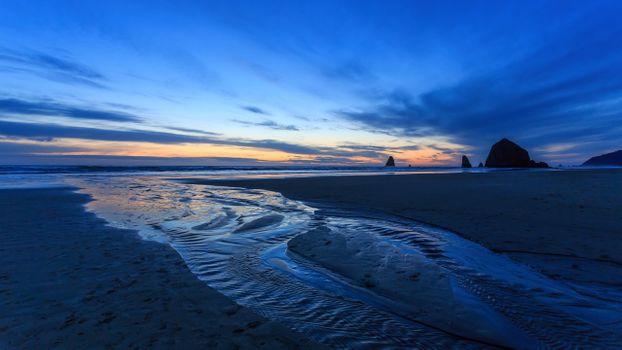 Photo free Oregon coast, Pacific North-West, rock