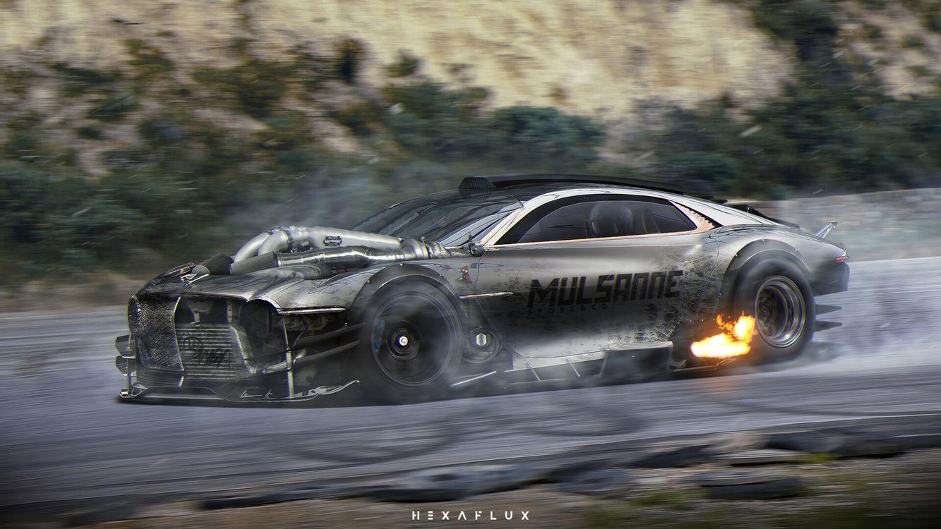 Фото Bentley автомобили художник - бесплатные картинки на Fonwall