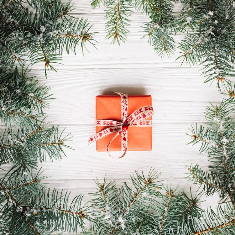 Фото бесплатно Новый год, праздник, подарок - на рабочий стол