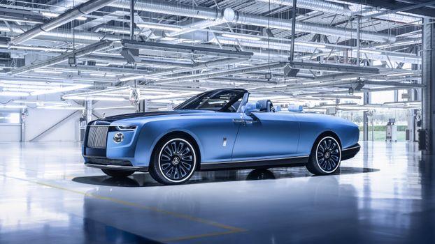 Photo free Rolls Royce Boat Tail, 2021 cars, Rolls Royce