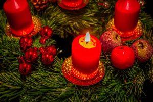 Фото бесплатно украшения, игрушки, новогодние обои