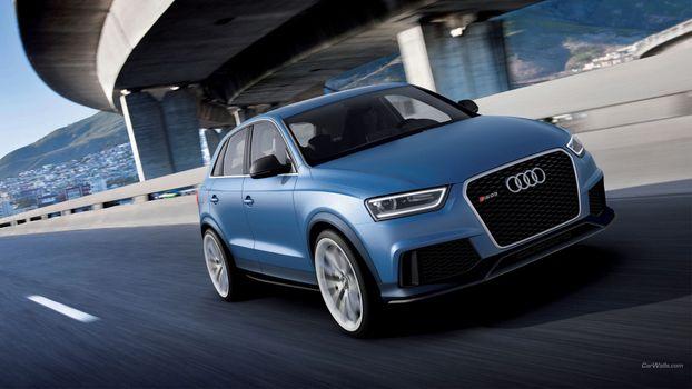 Photo free audi q3, executive car, Audi
