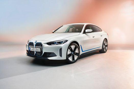 Photo free automobile, BMW, white