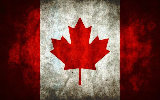 Photo free Canada, flag of Canada, red