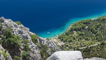 Заставки Хорватия, живописный вид, океан
