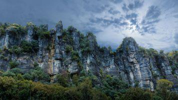 Photo free piopio, new zealand, rocks