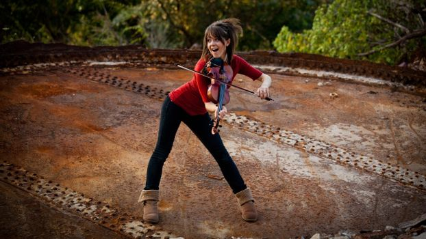 Фото бесплатно Lindsey Stirling, девушки, позирует