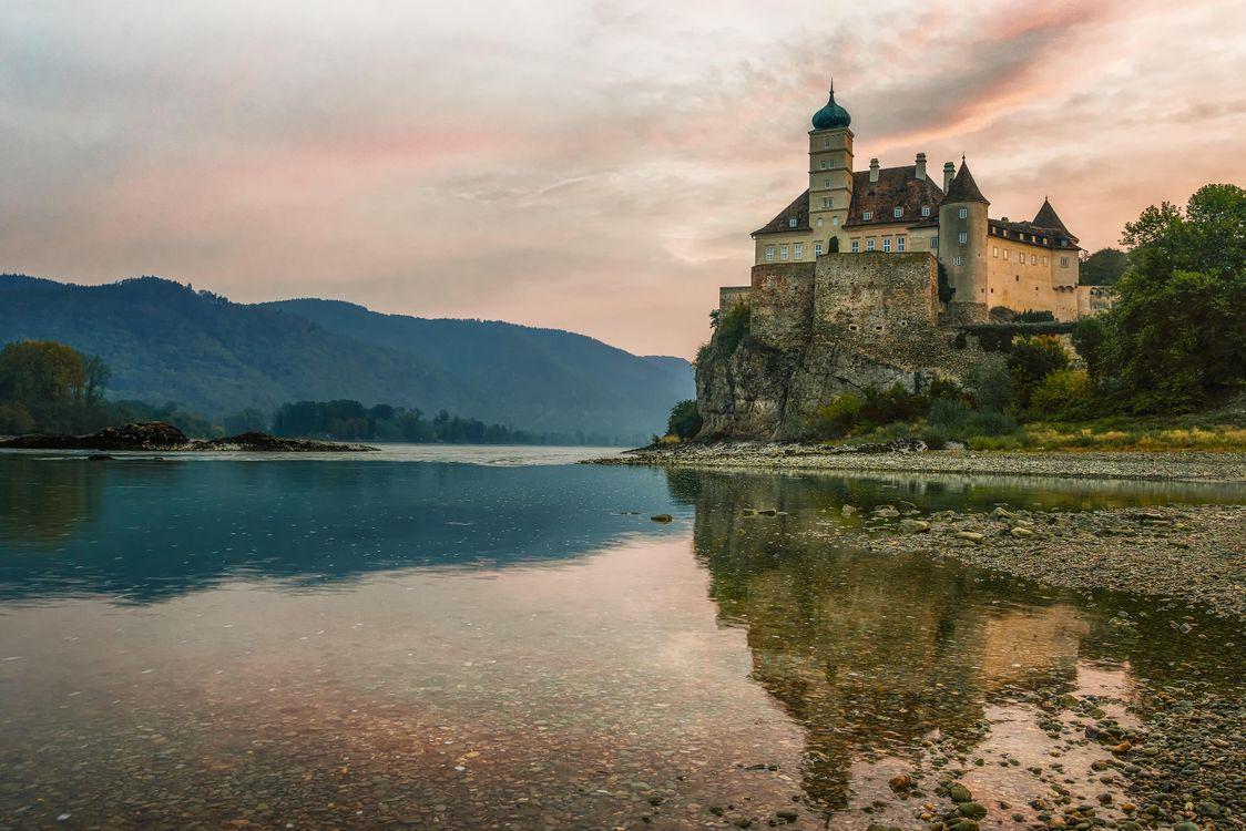Фото бесплатно Замок Шёнбюхель, Вахау, Дунай, Австрия, пейзажи