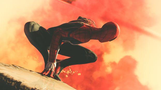 Фото бесплатно супергерои, Spiderman, 2018 Games