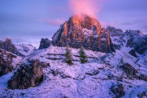 Фото бесплатно итальянские Альпы, горы, скалы