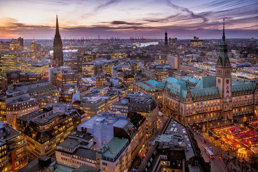 Фото бесплатно дома, города, Hamburg
