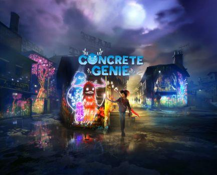 Фото бесплатно игры, Concrete Genie, 2019 Games