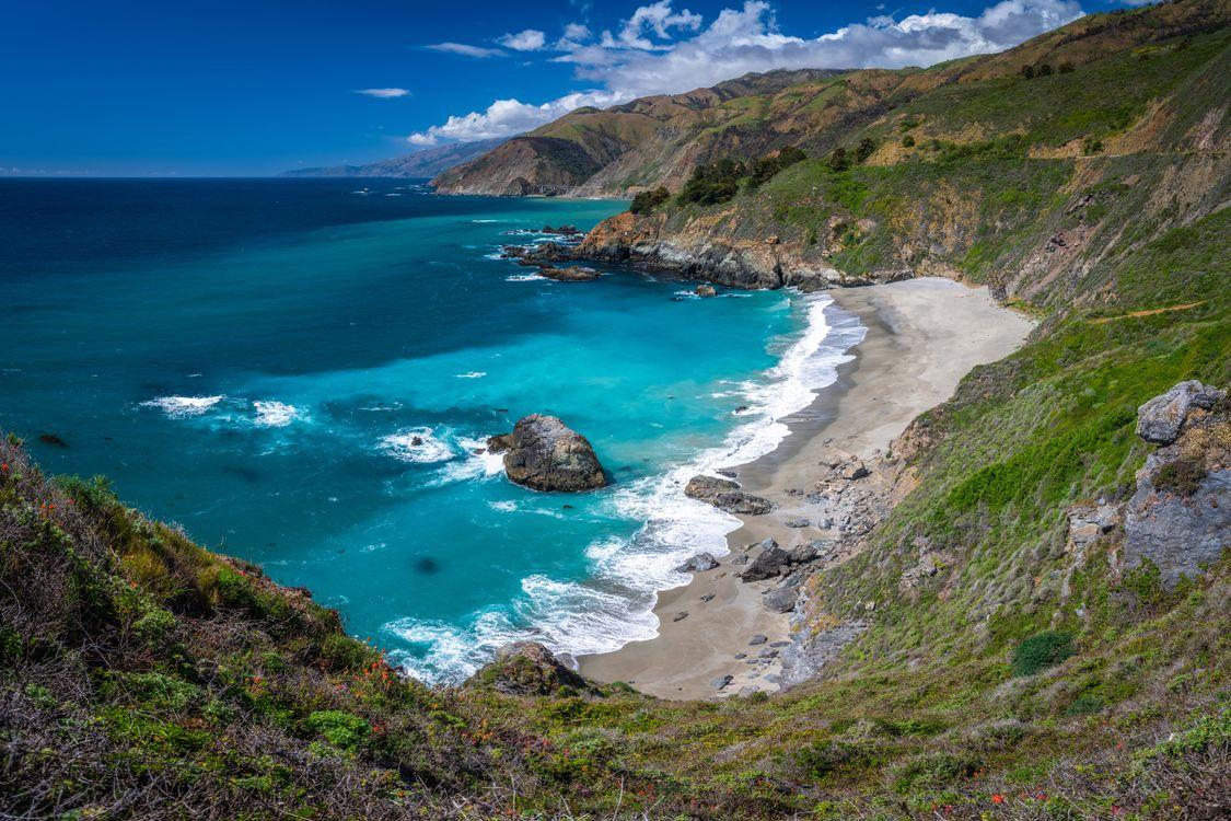 Фото природа американский океан океан - бесплатные картинки на Fonwall