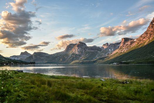 Photo free Norway, dawn, travel