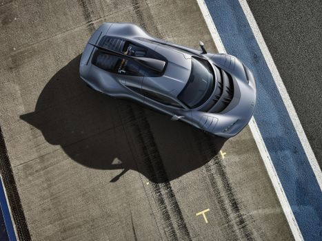 Photo free Mercedes, view from the top, cars