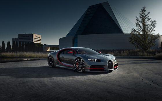 Photo free Bugatti Chiron, Bugatti, cars
