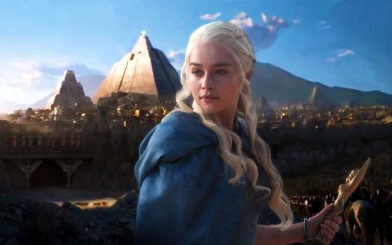 Заставки Game Of Thrones, Emilia Clarke, Tv Shows