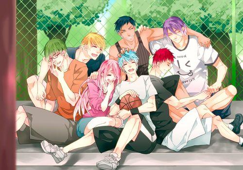 Фото бесплатно мальчики из аниме, kuroko no basket, tetsuya