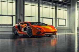 Фото бесплатно машины, Lamborghini Aventador S, автомобили 2019 года
