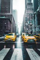 Бесплатные фото такси, небоскребы, город, движение, taxi, skyscrapers, city