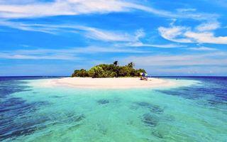 Бесплатные фото тропики,остров,пляж