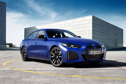 Фото бесплатно BMW G80, синий BMW, немецкие автомобили