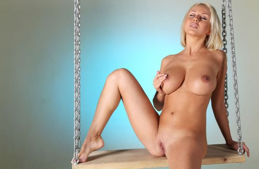 Photo free pussy, natural, blond