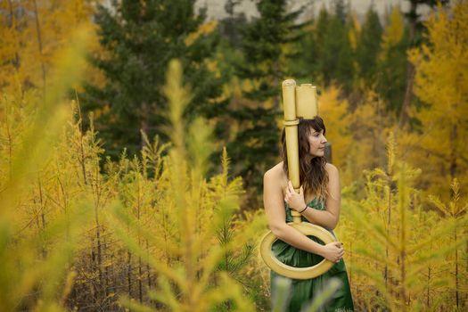 Фото бесплатно весна, женщина, желтый