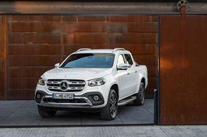 Бесплатные фото Mercedes-Benz X-Klasse