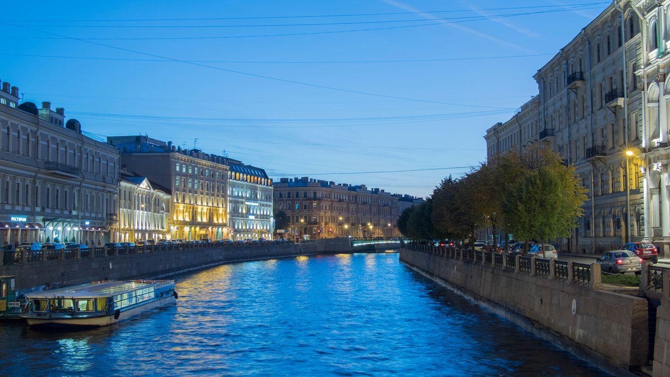 Фото бесплатно Moyka river, Saint-Petersburg - на рабочий стол